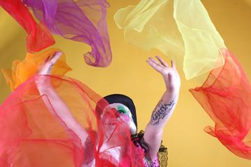 Color, colores, alegria, fiesta