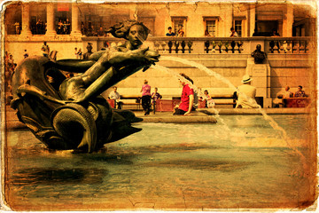 National Gallery, Trafalgar Square, London