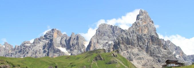 Pale di San Martino dal Passo Rolle