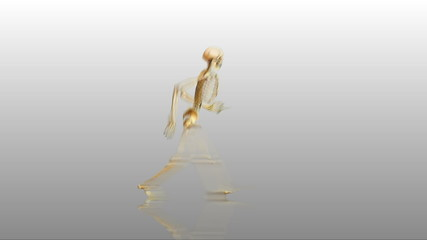 Walking skeleton W/reflection & also loopabable