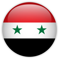 Syria Flag Glossy Button