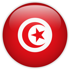 Turkey Flag Glossy Button