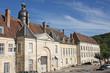 Leinwanddruck Bild - Abbaye de clairvaux