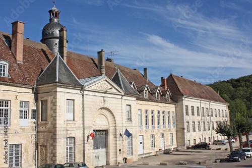 Leinwanddruck Bild Abbaye de clairvaux