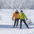 sportlich skaten zu zweit