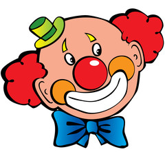 Happy clown.