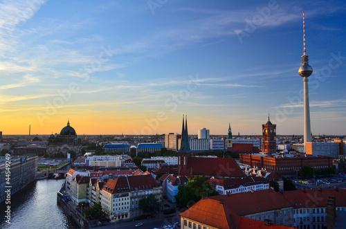 Fototapeten,berlin,skyline,panorama,alexanderplatz