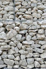 Muro di contenimento - Gabbia d'acciaio