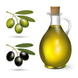 small bottle of olive oil