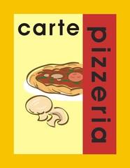 carte pizzeria