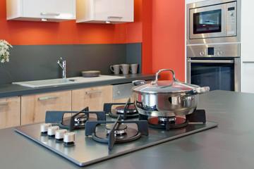 cuisine moderne à ilôt central  # 23