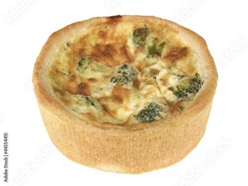 Broccoli Cheese and Tomato Quiche