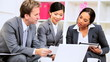 Informal Meeting Multi Ethnic Business Team