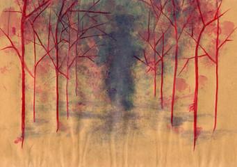 autumn grunge background