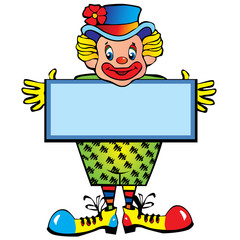 Funny clown.