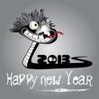 Happy New Year! cheerfully