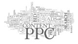 ppc concept  tag cloud