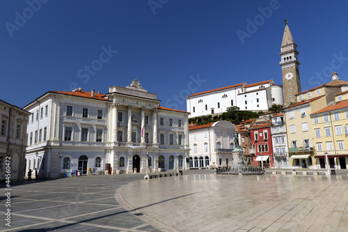 Tartini Square in Piran