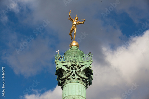 Genie de la Liberte  at July Column  Place de la Bastille