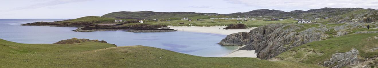 clachtoll beach in schottland