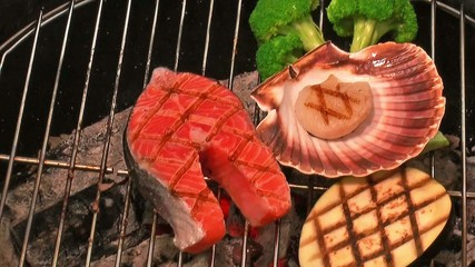 grilling fish & seafood