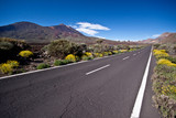 Empty road to Teide.