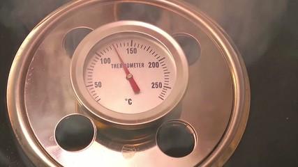 thermometer am küchengeräte