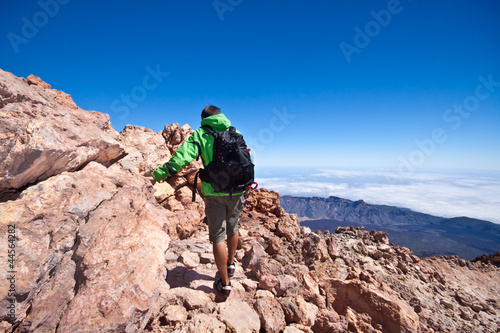 Hiking - Male hiker