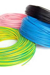 cavi elettrici in bobina