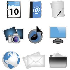 Büro Icon Set
