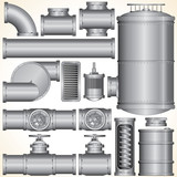 Vector Industrial Elements