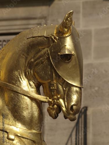Estatua de Juana de Arco en París