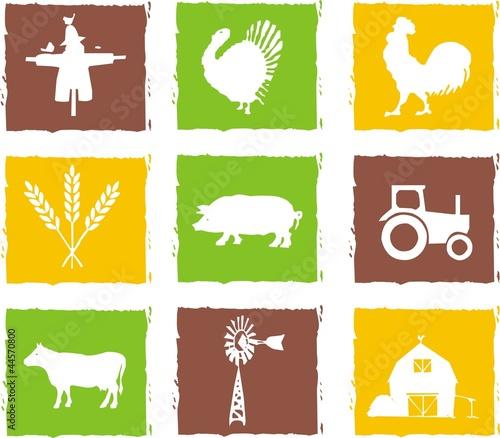 papier peint agriculture