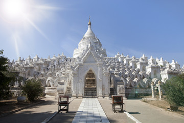 white temple, Myanmar