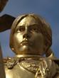 Estatua equestre de Juana de Arco en París