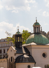 st. James Church on Main Square in Cracow, Poland