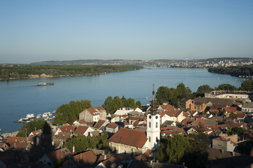 View from Gardos Hill - Zemun at Belgrade