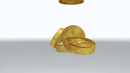 Computer Generated Gold coins