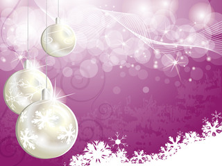 Pink Christmas backgrounds for design
