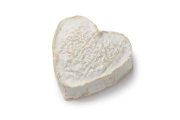 Heartshaped Neufchatel cheese