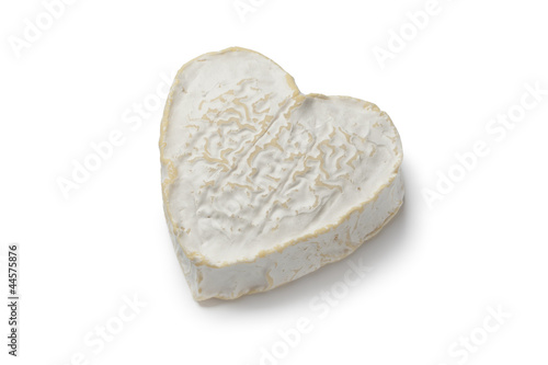 Heartshaped Neufchatel cheese
