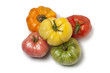 Diversity of whole Beefsteak Tomatoes