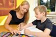 Hausaufgaben in Deutsch