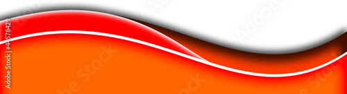 orange and red swoosh