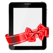 Abstract design Tablet. Vector illustration
