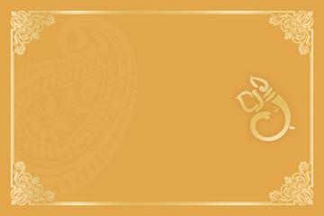 An Indian Wedding Invitation Card