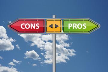 Pros vs. Cons