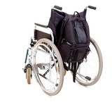 empty wheelchair, wehicle for handicapped persons