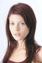 natural young beautiful woman