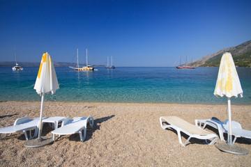 spiaggia di Zlatni Rat - Bol (Croazia)
